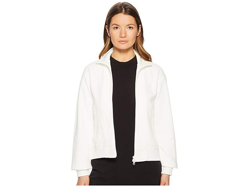 Adidas Y 3 By Yohji Yamamoto Matte Track Jacket Core White Women S Coat Your Style Sets You Apart In The Adidas Y 3 By Yohji Ya Clothes Free Clothes Jackets