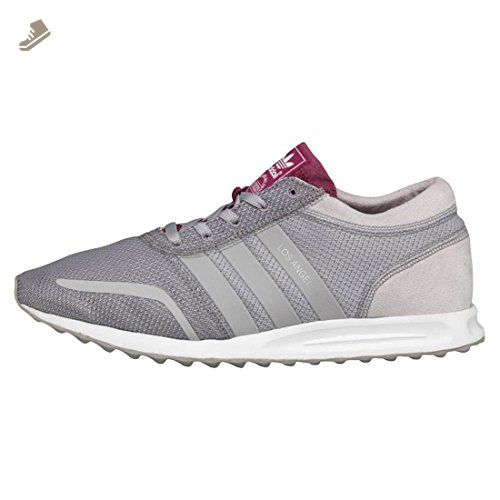 Adidas Women Los Angeles (gray / clear granite / berry)-8.0 - Adidas