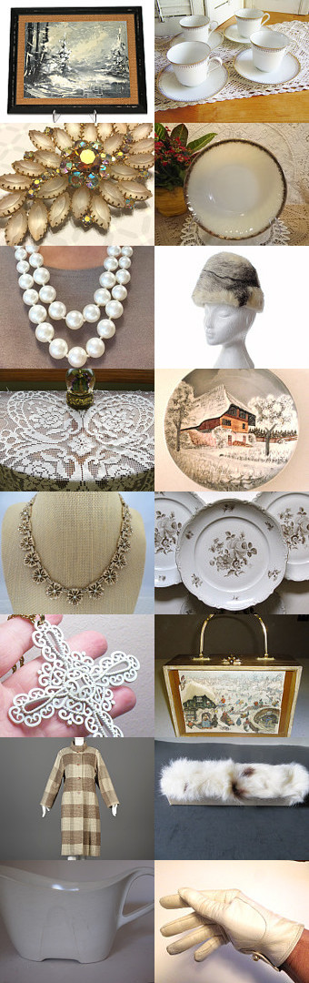 Snowed In!!!  Vintage Explosion by Vanessa on Etsy--Pinned with TreasuryPin.com
