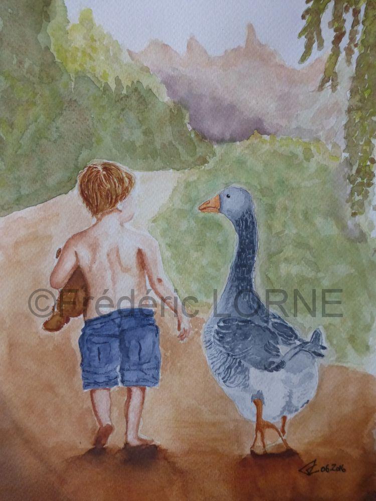 L'Enfant et l'oie