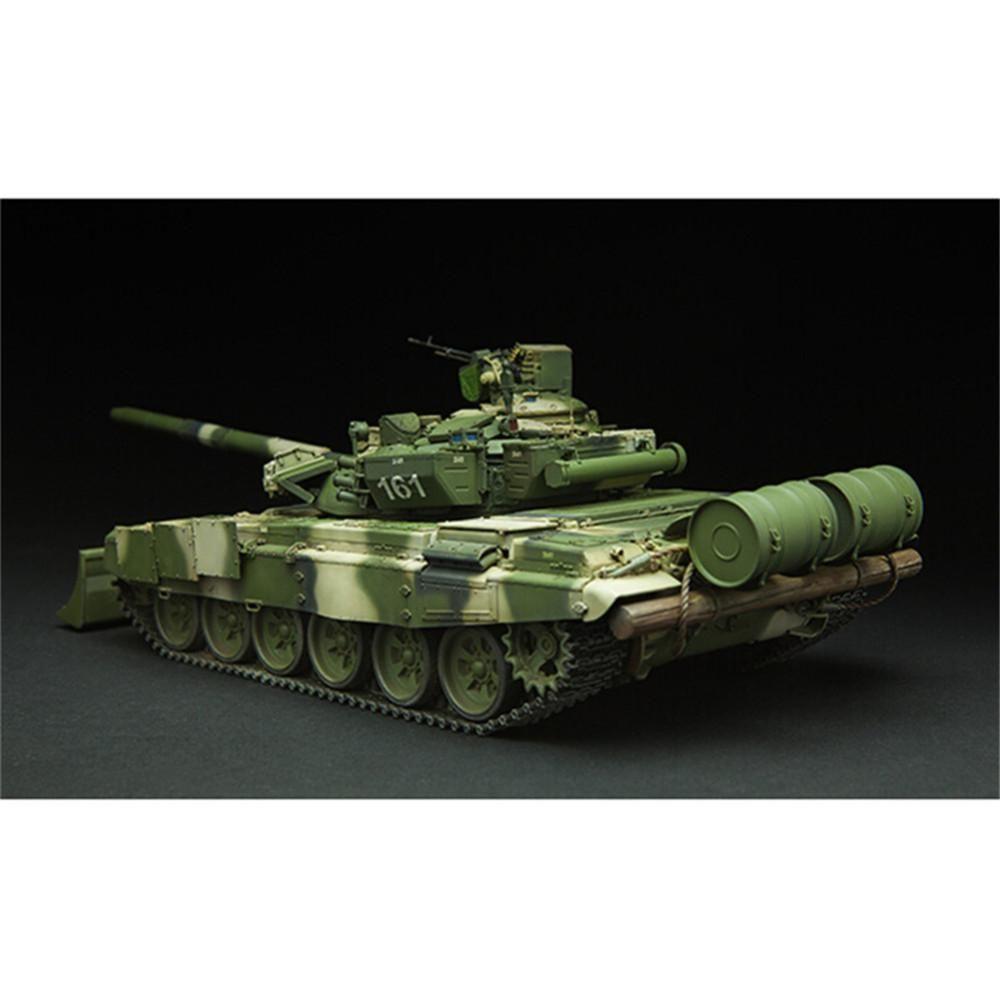 model tanks T-90 is a third-generation Russian battle tank