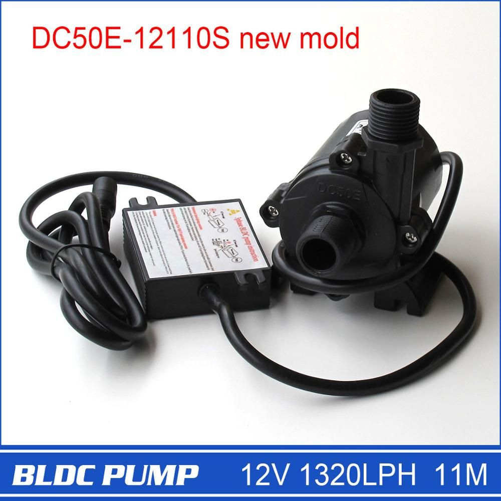 12 Volt Water Pump High Pressure Dc50e 12110s 1320l H 11m 1pcs 5 12v Wide Voltage Operation 3 Phase Compact Dc Water Pump Pumps Water Pumps Stuff To Buy