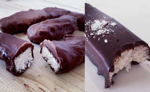If you love coconut like I do, then you will absolutely love these scrumptious bounty bars.