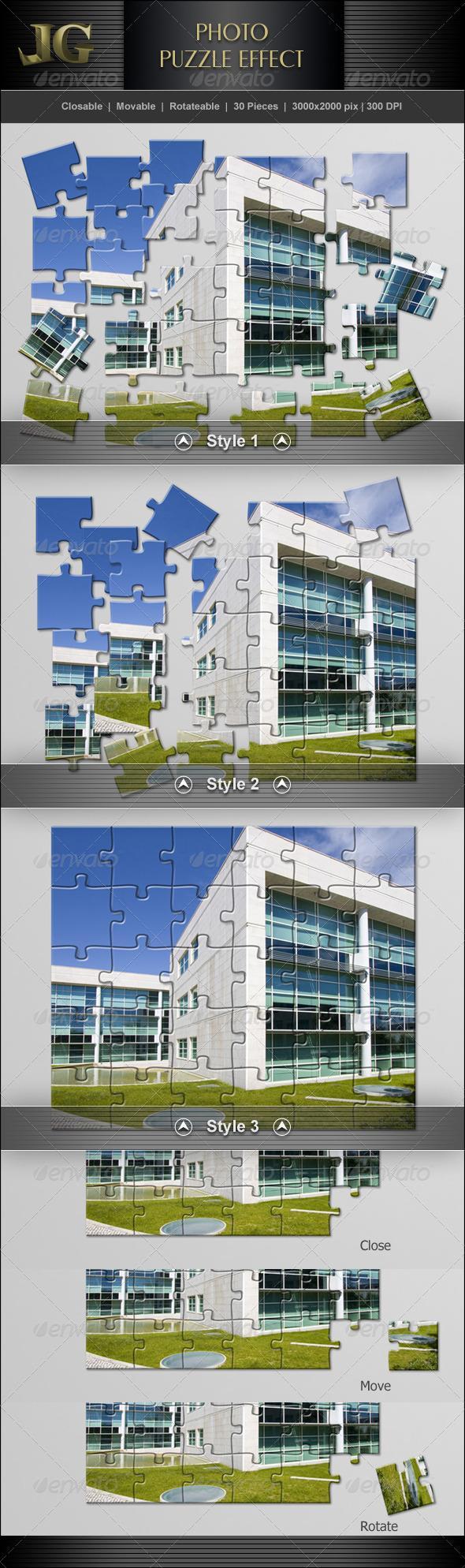 Puzzle Effect V2 effects, Puzzle, Puzzle pieces