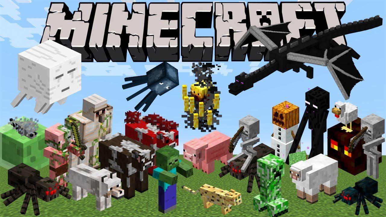 all minecraft characters names lDC7qLHt Minecraft