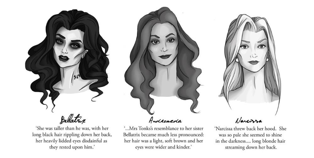 The Tale Of Three Sisters By Piertotum Locomotor On Deviantart Arte De Harry Potter Actores De Harry Potter Personajes De Harry Potter