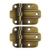 vintage cabinet hinges. Pair Of Solid Brass Art Deco Surface Cabinet Hinges In Antique-By-Hand ( Vintage