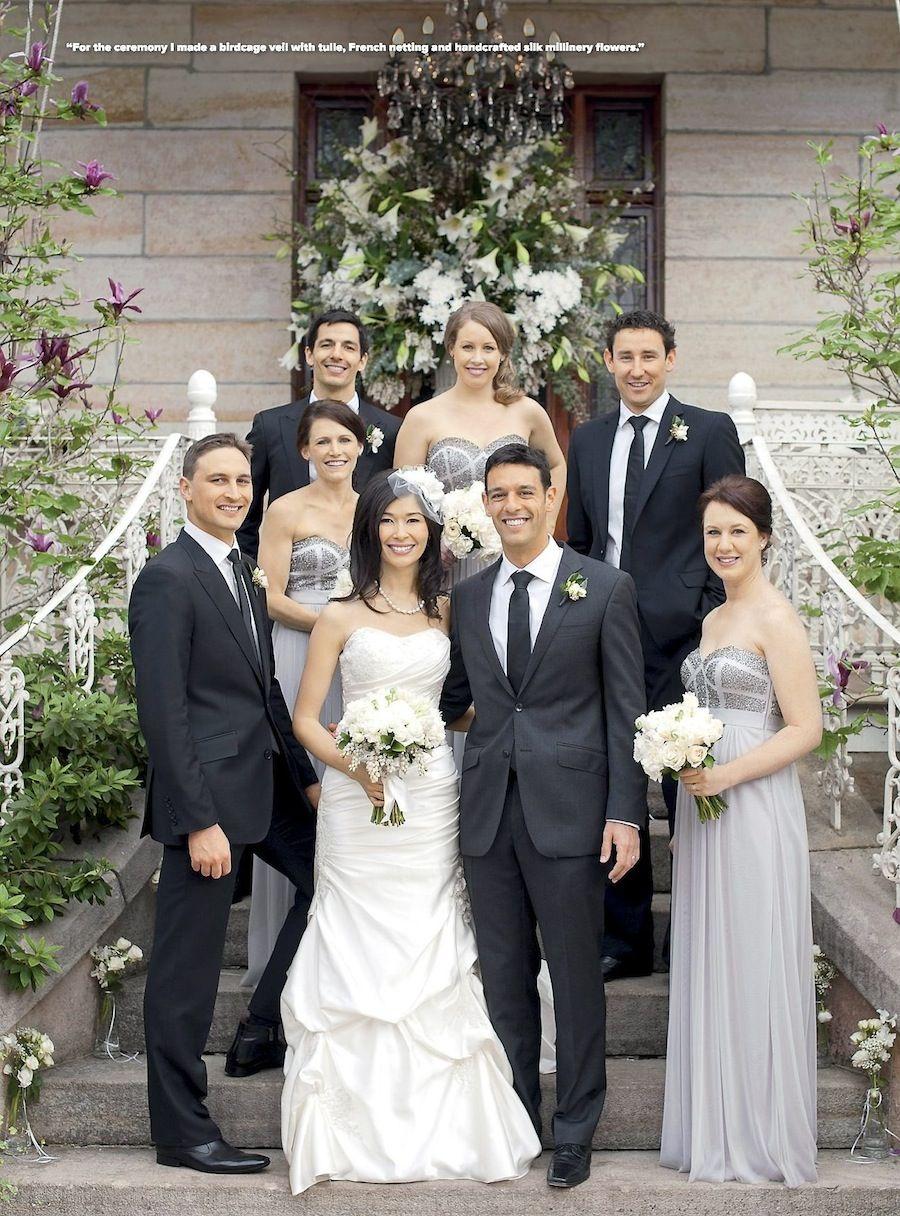 The bridesmaids wore gray bridesmaids pinterest cosmopolitan two years since my wedding day at terrara house estate junglespirit Images