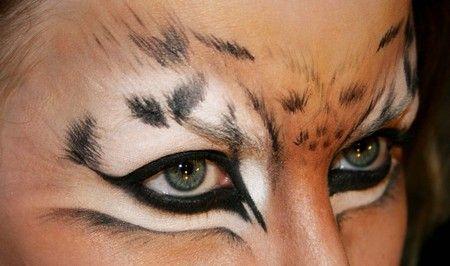 pin by linda dundee on make up katze schminken leopard. Black Bedroom Furniture Sets. Home Design Ideas