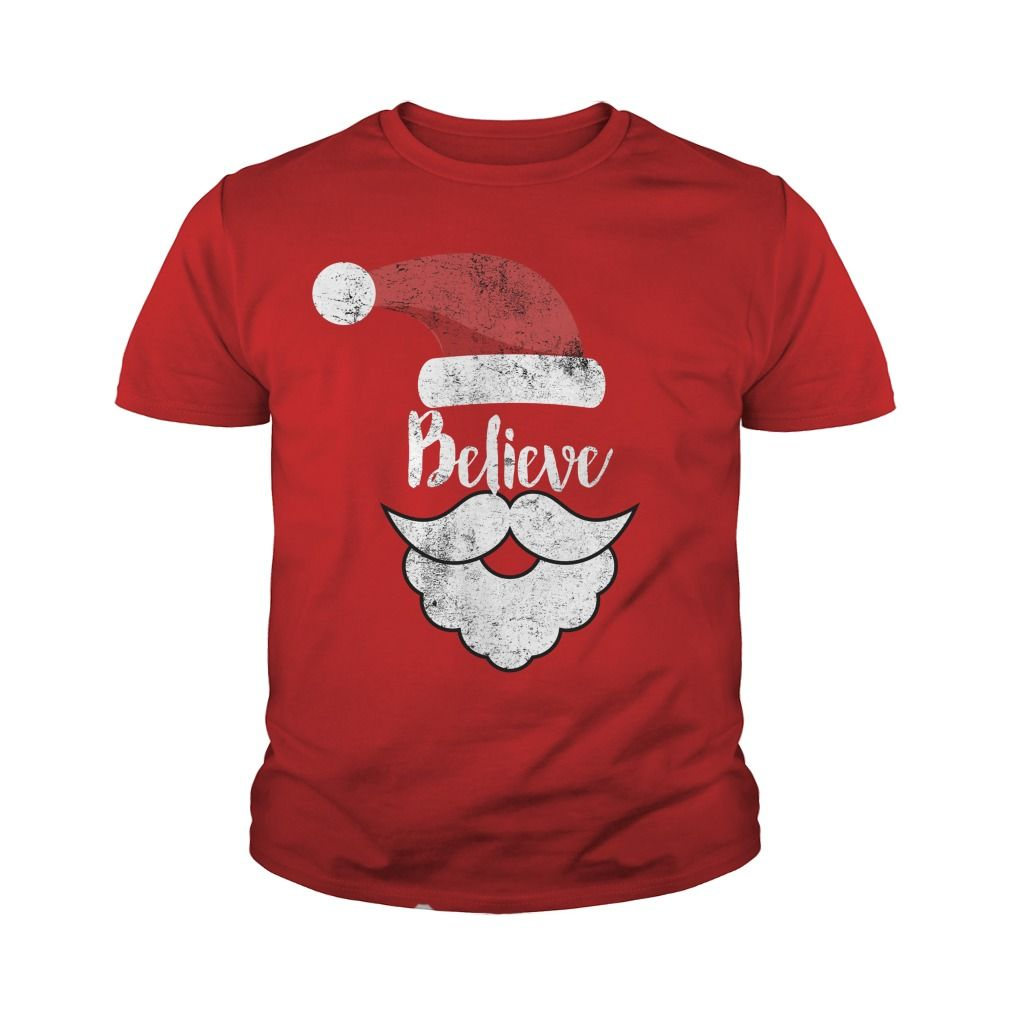 believe christmas shirt best santa christmas tee gift ideas popular everything