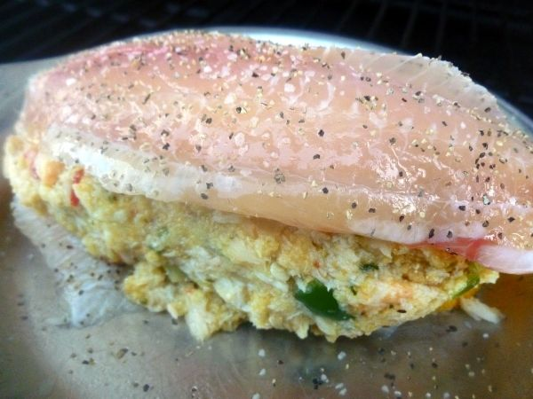 Check Out Baked Crab Stuffed Tilapia It 39 S So Easy To Make