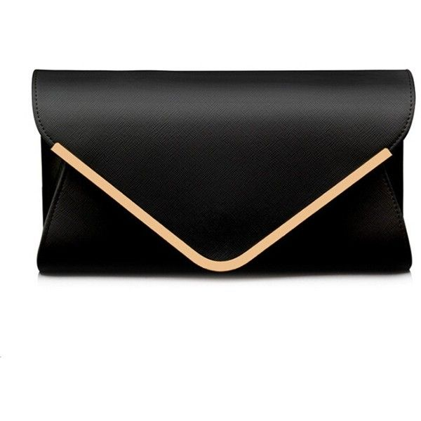 68b30702d669 Zmart Women's Envelope Clutches Evening Shouder Bag ($20) ❤ liked ...