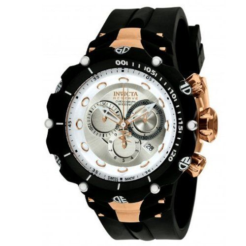 Invicta Mens Reserve Venom Generation II Swiss Made Chronograph Rose Tone  Accents Watch 1526 Invicta. Save 84 Off!.  399.00. Date Display. bb940e32941