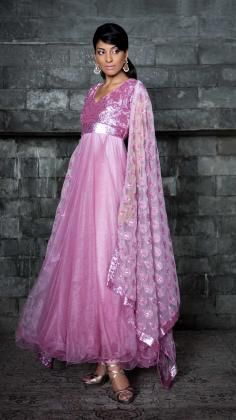 Anarkali Suit from Siddartha Tytler's Bridal Collection. Beautiful Bridal collections