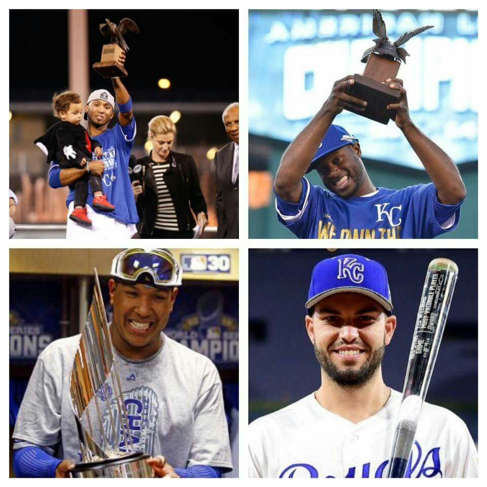 MVP's? Yeah, we got a few! Kansas city royals, Royals