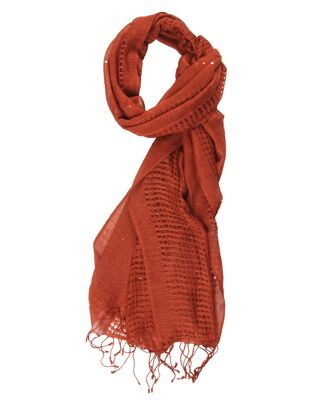 0d935bcc4 rust colored scarf | i'd wear that | Fashion, Orange fashion, Rust color