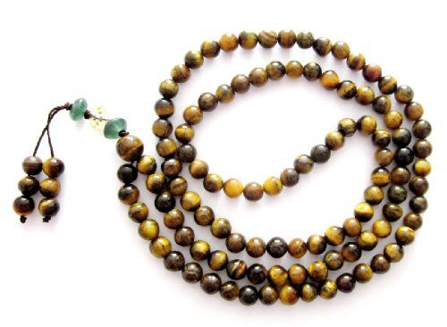 6mm Tiger Eye Gem Beads Tibetan Buddhist Prayer Meditation 108 Japa Mala Ovalbuy http://www.amazon.com/dp/B0064BW1EC/ref=cm_sw_r_pi_dp_rNESub0A02SPD