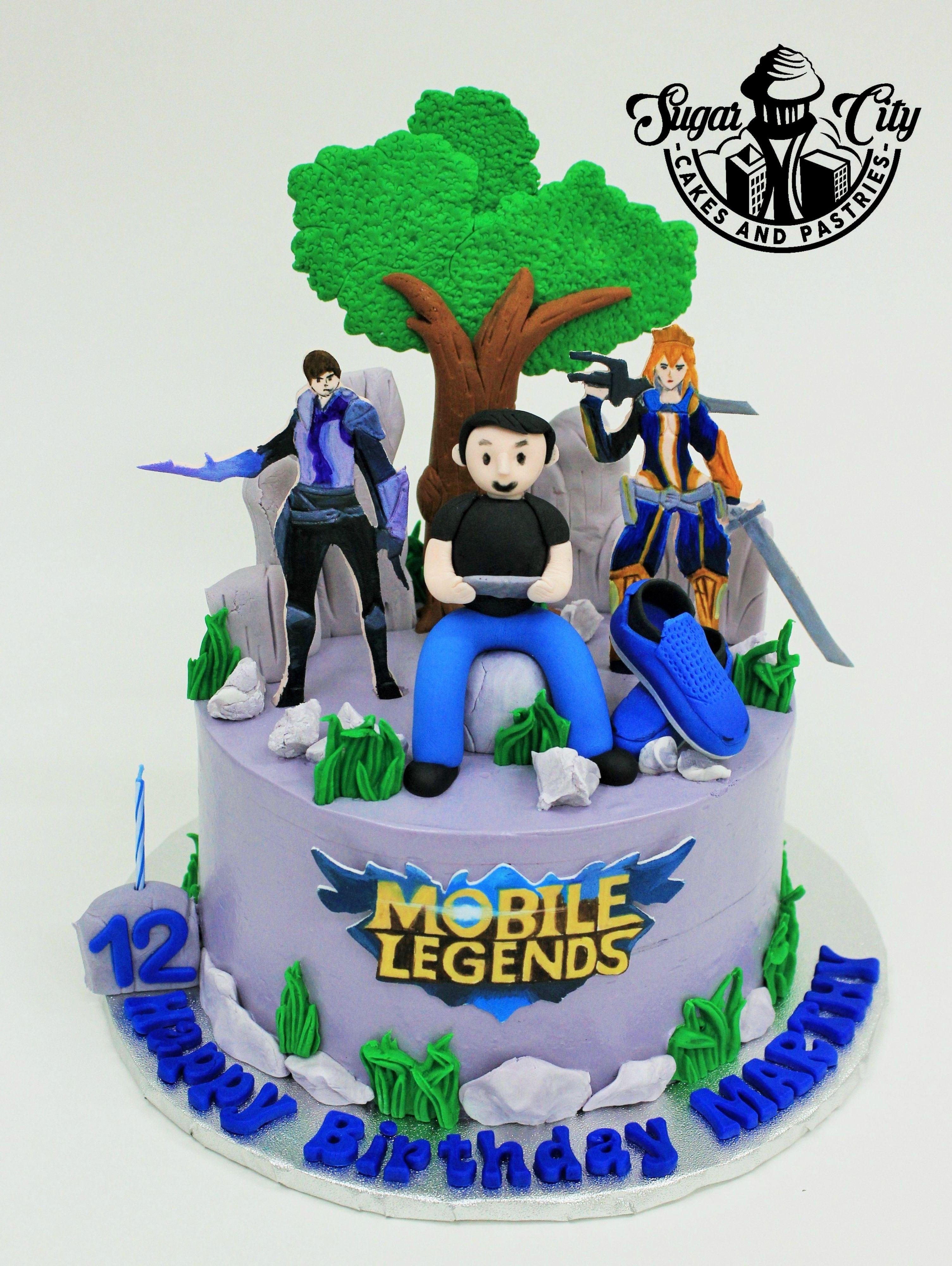 Mobile Legends Cake Cake Cake Decorating Cake Designs