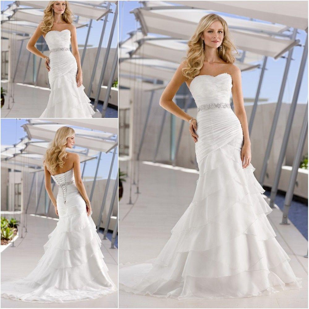 chiffon wedding dresses for beach wedding Google Search