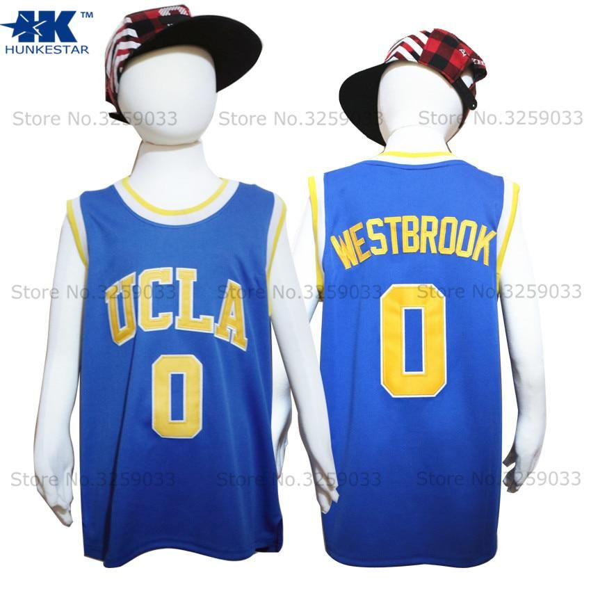 huge selection of 795d0 1901b Kids Boy Russell Westbrook Jersey UCLA Bruins #0 College ...