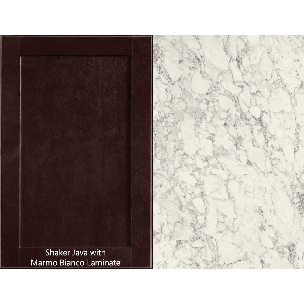 Hampton Bay 6 Ft Laminate Countertop Kit In Marmo Bianco Marble