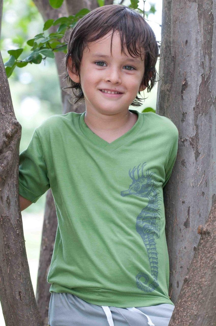 Nui Organics Boys Maclean V-Tee (Available in 3 Colors) #backtoschool #kidsfashion #onlineboutique #organiccotton #shophenryandlola