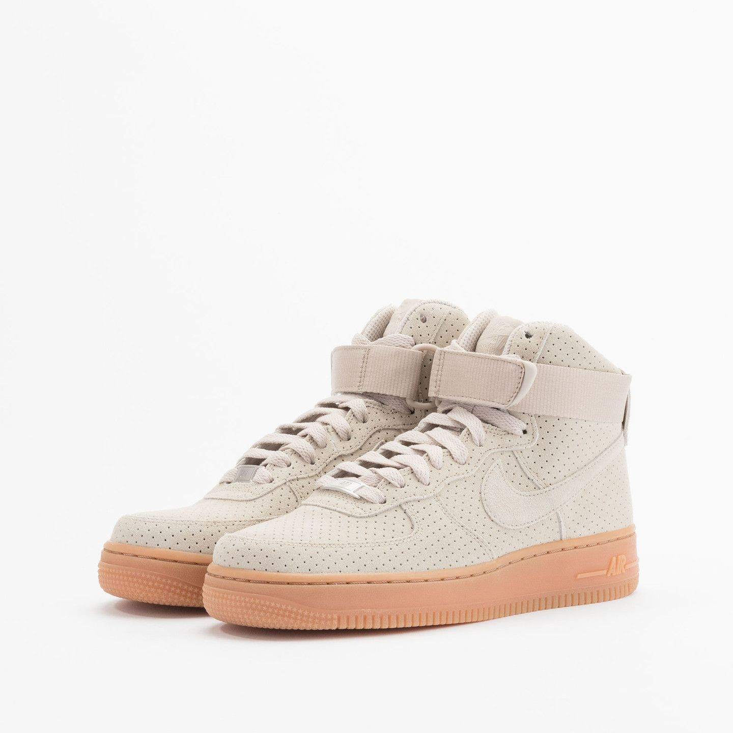 online retailer f4571 1ee23 Nike Wmns Air Force 1 Hi Suede String  String 749266-200