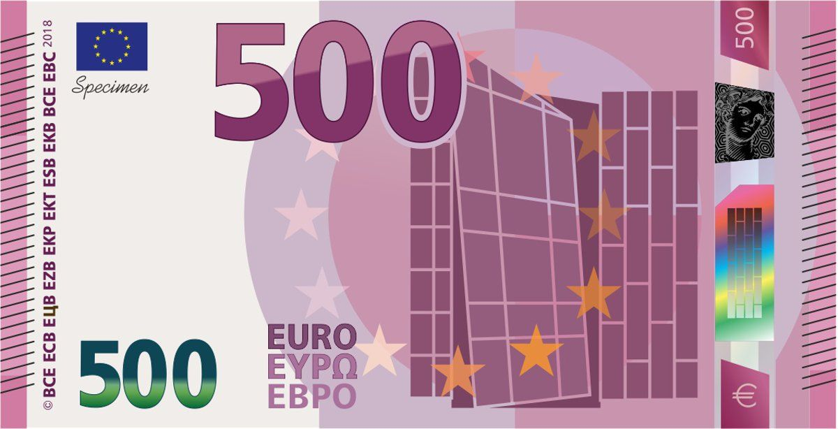 500 euro banknote serie 2 europa serie konzept for Ecksofa 500 euro
