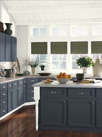 Benjamin Moore Gravel Gray 212730 Kitchen Island  Finishing The Inspiration Design Your Kitchen App Decorating Design