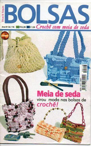 Croche com meia de seda - claudia Rabello - Álbuns da web do Picasa