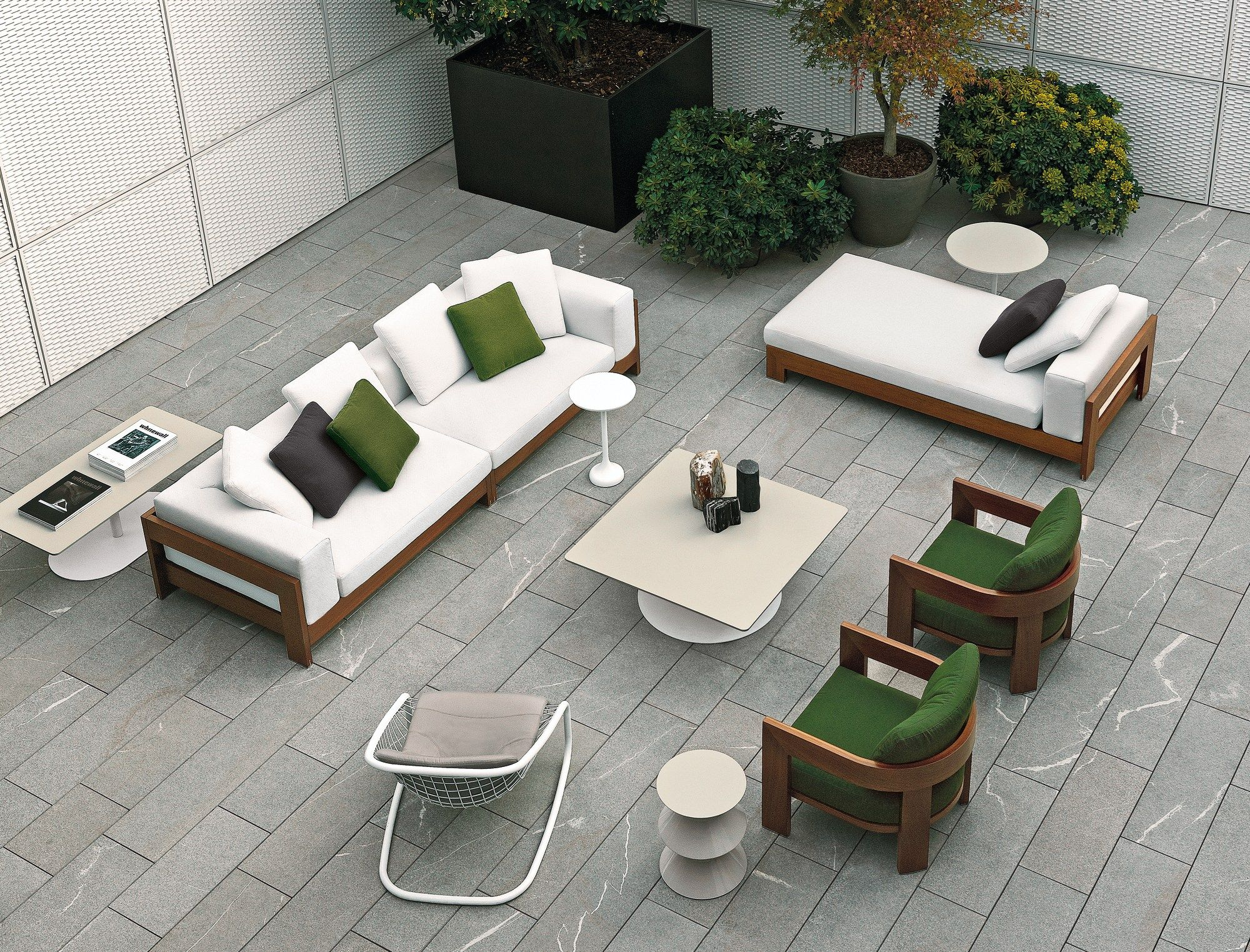 ALISON IROKO OUTDOOR by Minotti design Roberto Minotti | pedregal ...
