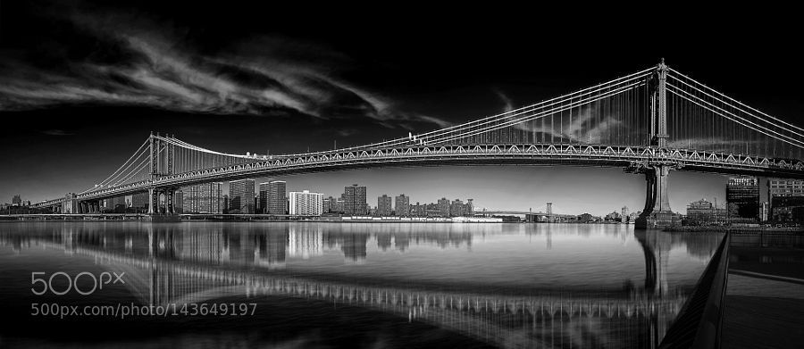 Manhattan Bridge by brownfieldj. @go4fotos