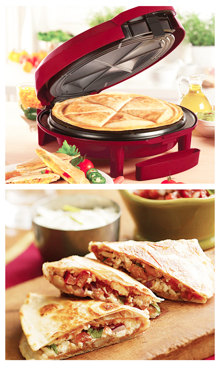 Enjoy the perfect quesadilla with this quesadilla maker from the HGNJ Shopping Mall!