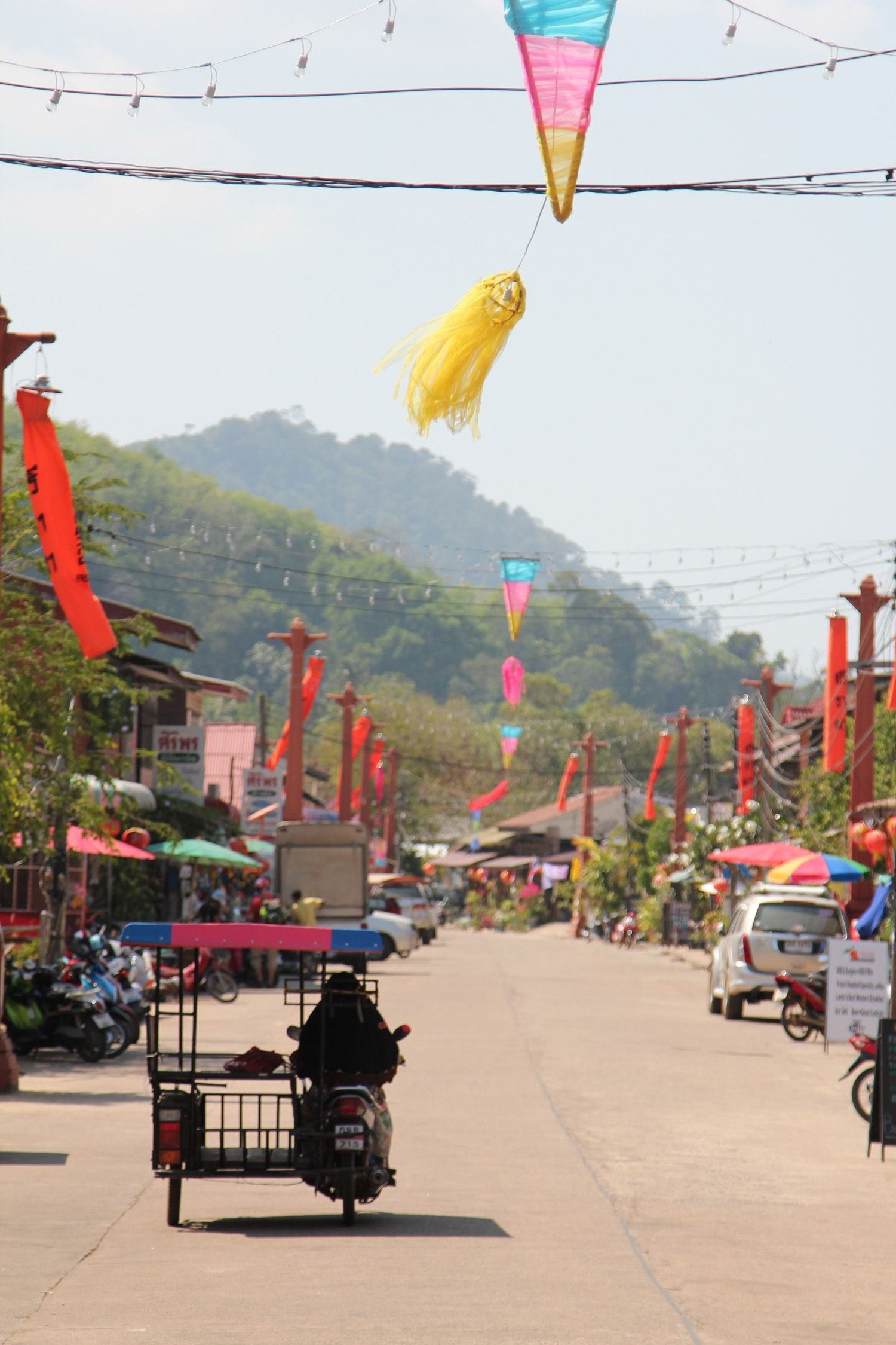 Lanta Old Town on Koh Lanta's east coast was once the port