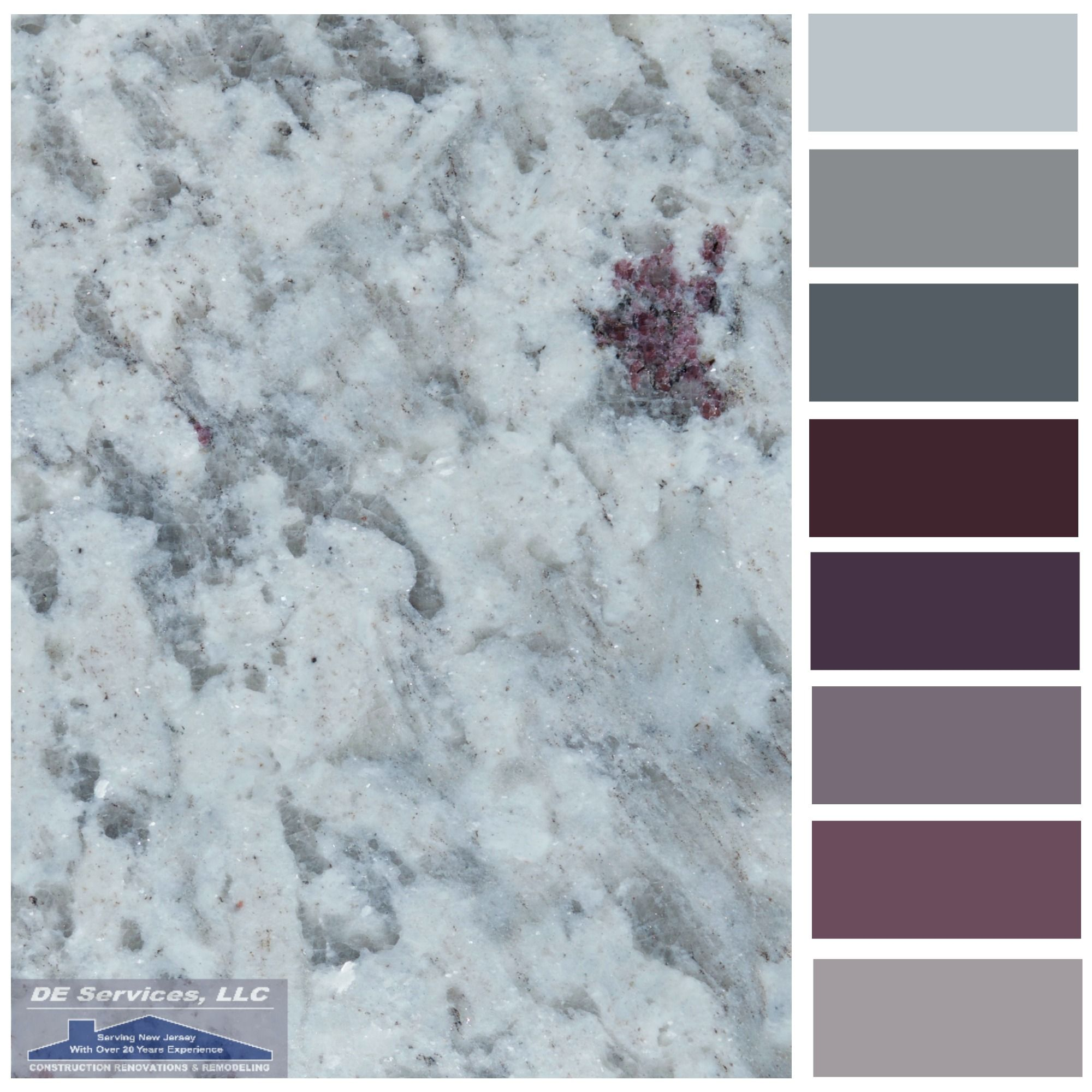 Moon White Granite   DE Color Palettes   Pinterest   White granite ...