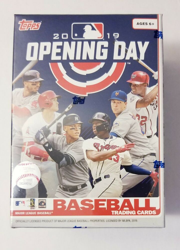 2019 topps opening day blaster box factory sealed