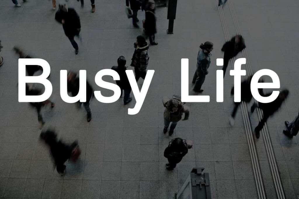 Busy life: Websites, Texter, Game, Buch