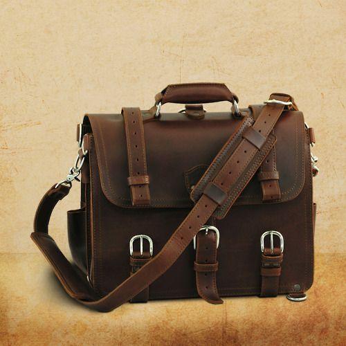 Saddleback Leather Co. Briefcase in Chestnut