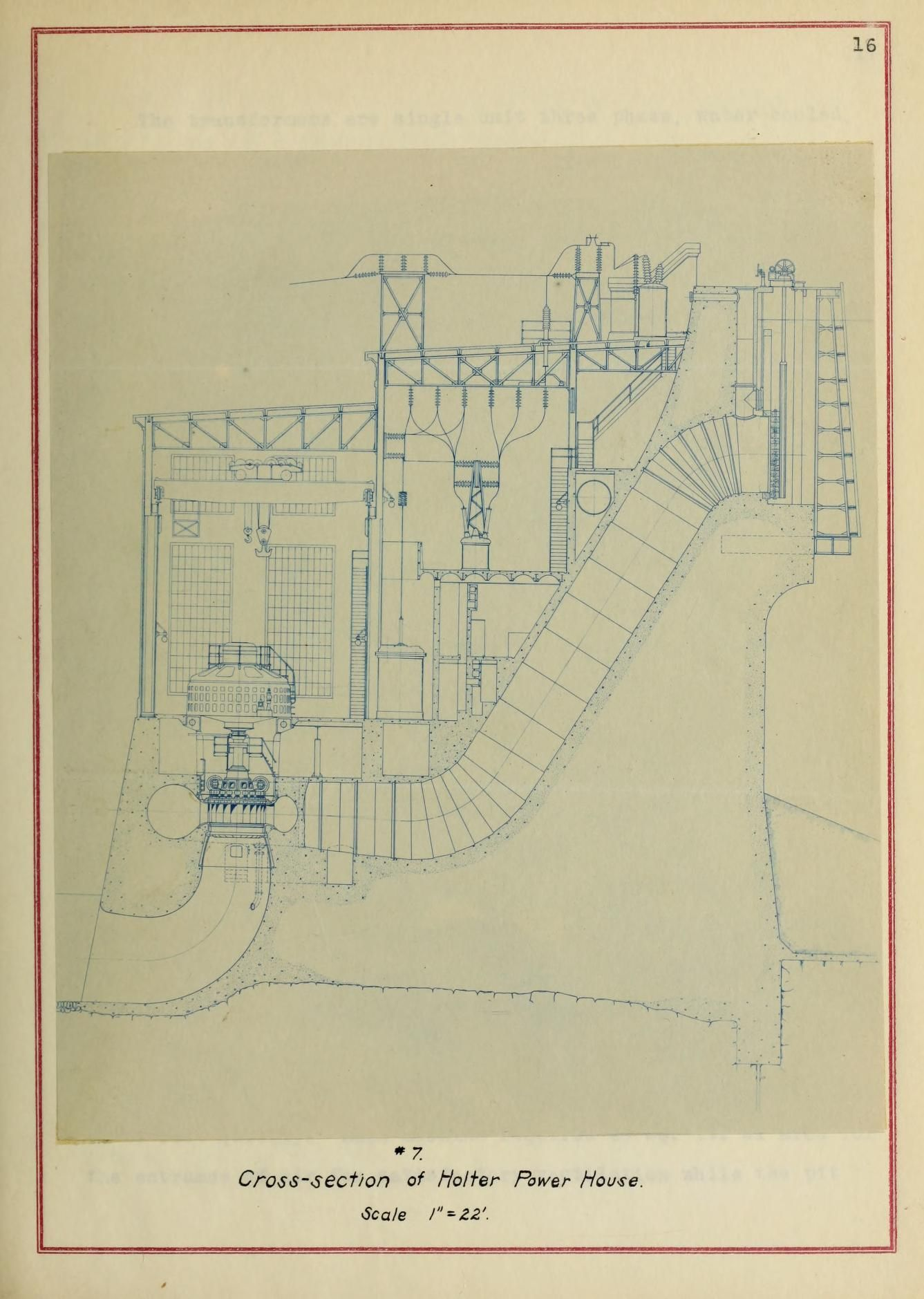 The Design Of A Hydroelectric Power Plant Schematic Diagram