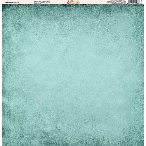 2912e75928b2f Ella and Viv Paper Company - Ocean Wonders Collection - 12 x 12 Paper -  Twelve