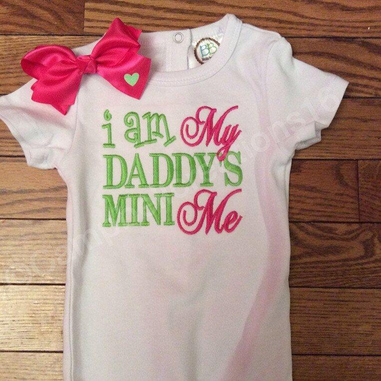 I am my daddys mini me shirt / Daddy Mini Me Shirt / Daddy Shirt / Saying Shirt / by CampbellCreations16 on Etsy https://www.etsy.com/listing/236009868/i-am-my-daddys-mini-me-shirt-daddy-mini