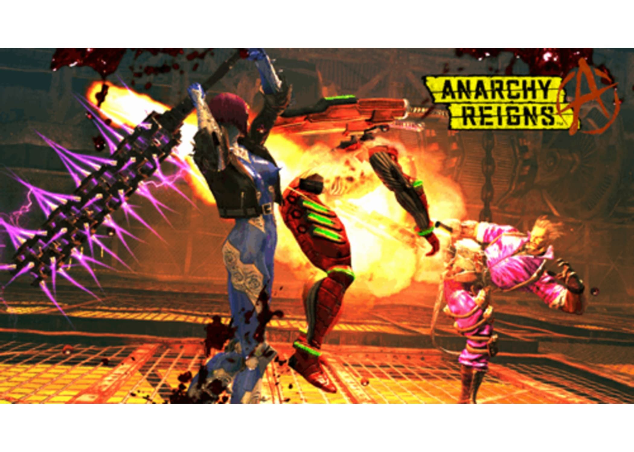 Anarchy Reigns Limited Edition Reign Anarchy Things To Come