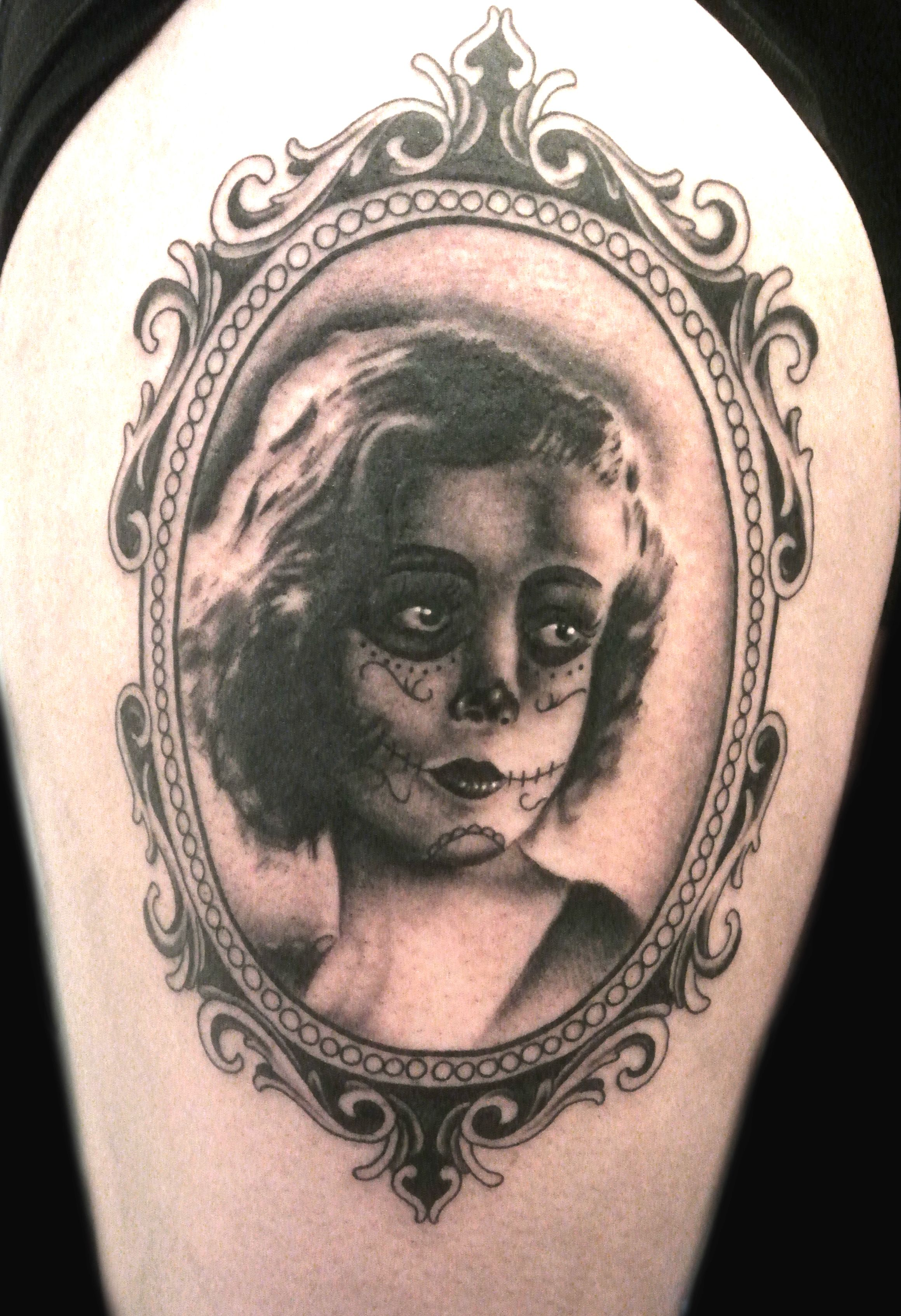 ornate frame tattoo simple ornate frame tattoo candy girl portrait in vintage by lou shaw ornate frame tattoo 450 best tattoos images on tatoos tattoo