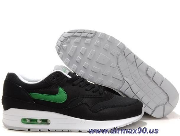 quality design aee29 c2acc Buy Mens Nike Air Max 1 Black Victory Green White Shoes for cheap,cheap Nike  Air Max Shoes,wholesale Nike Air Max Shoes,discount Nike Air Max Shoes