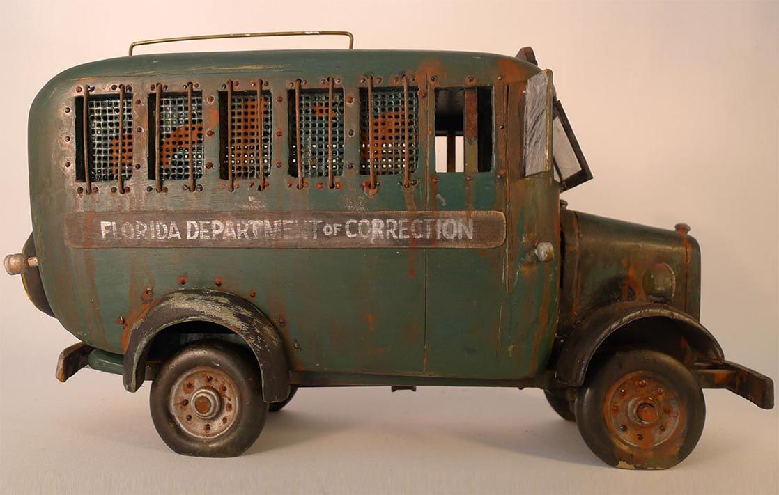 Florida Department of Correction . Prison vehicle Metal