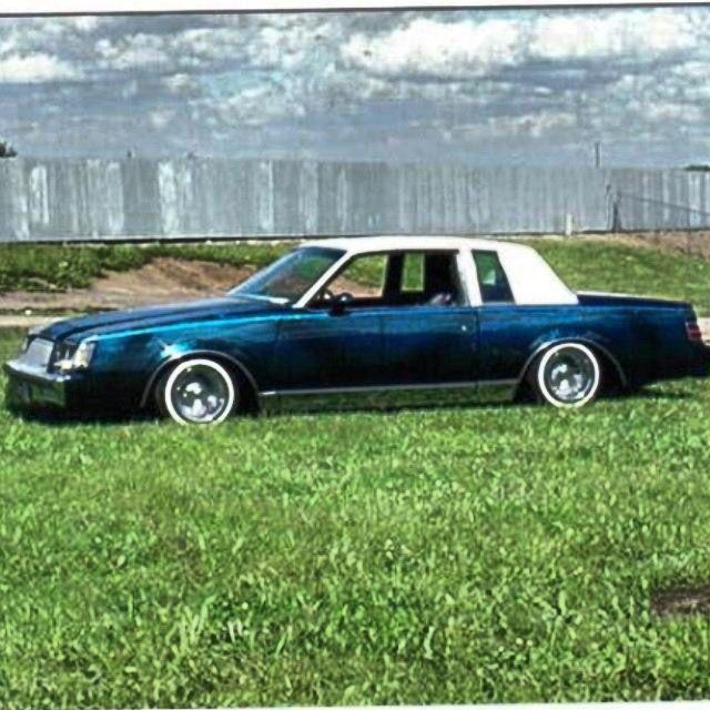 1983 Buick Regal Lowrider Lowrider Cars Lowriders Buick Regal