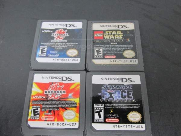 shopgoodwill.com: Lot of 4 Nintendo DS Games w/ Hard Case