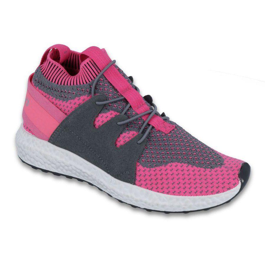 Befado Obuwie Dzieciece Do 23 Cm 516y030 Szare Rozowe Sneakers Nike Nike Free Shoes