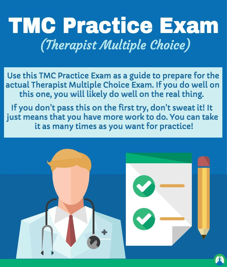 TMC Practice Exam Respiratory Therapist Multiple Choice Board - respiratory therapist job description