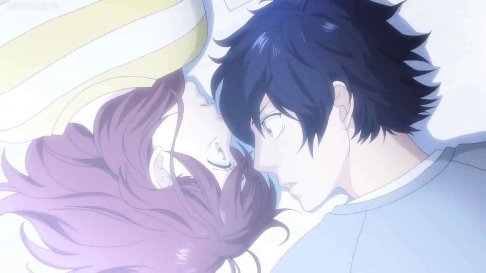 Ao Haru Ride Amv Kou And Futaba What Hurts The Most Best Romance Anime Romantic Anime Blue Springs Ride
